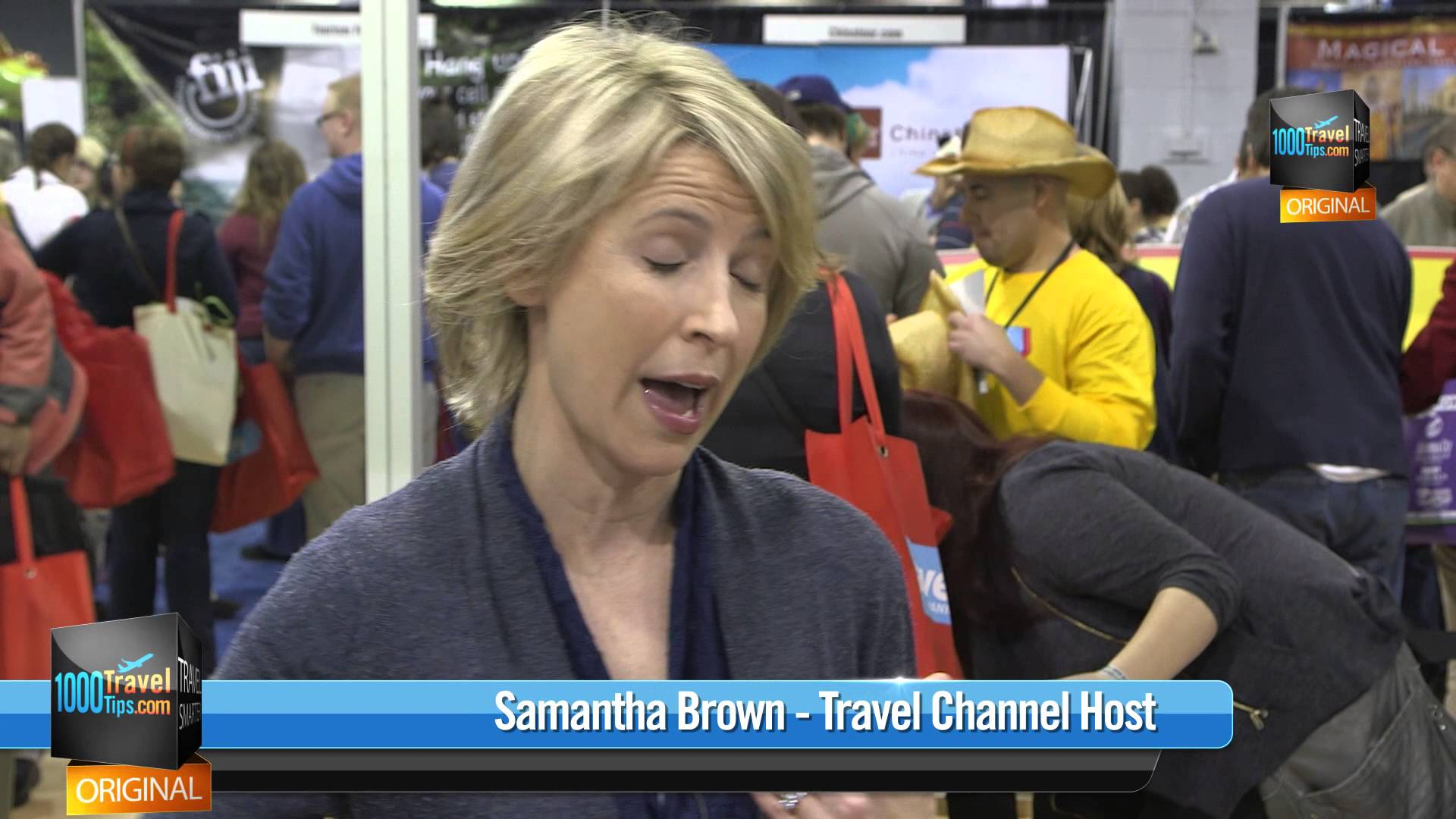 Samantha Brown's Advice for Females Traveling Alone