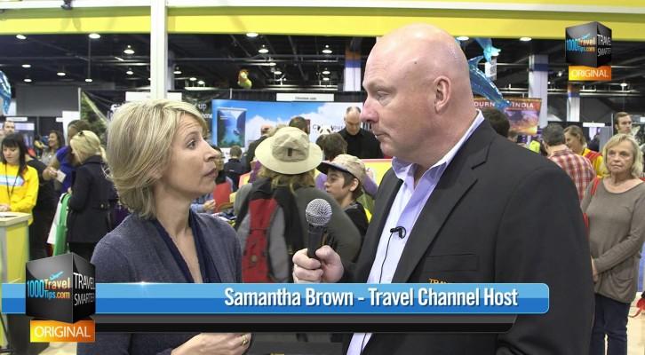 Samantha Brown Travel Expert