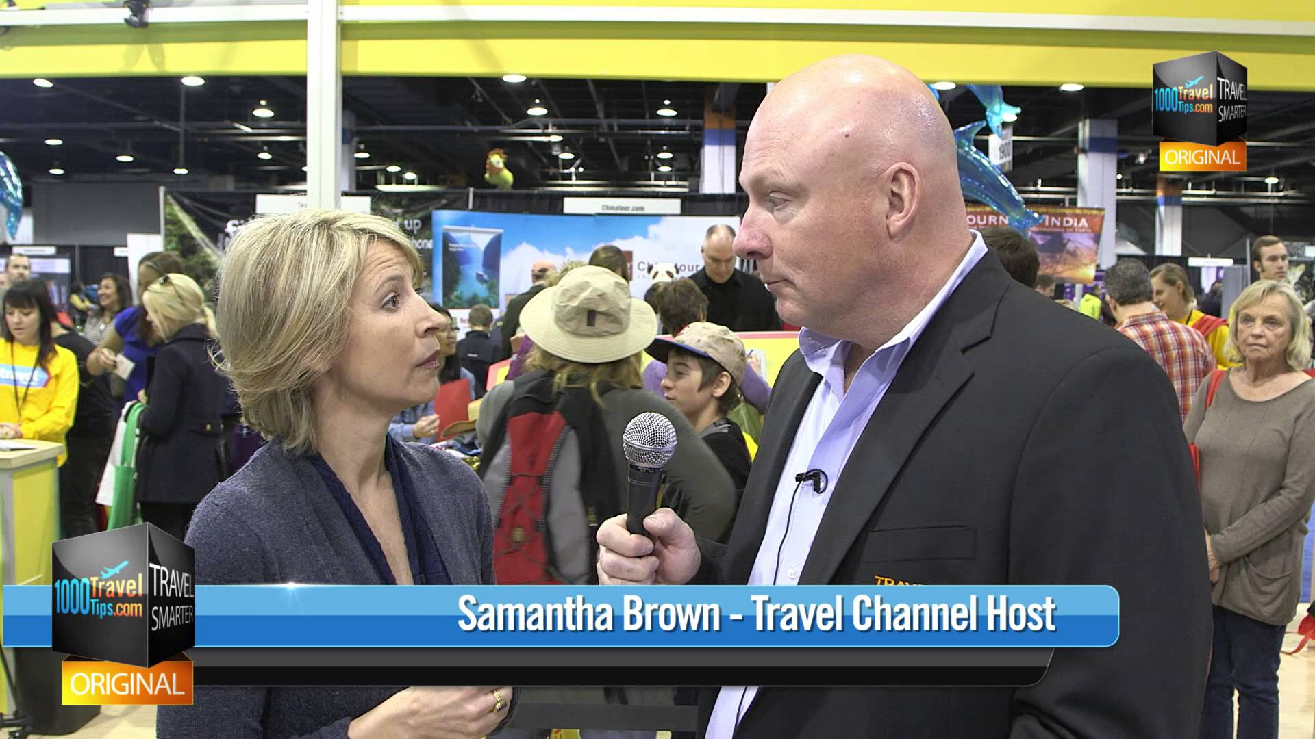 Travel Tips For First-time Travelers from Samantha Brown
