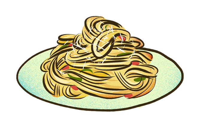 Italy Carbonara Pasta