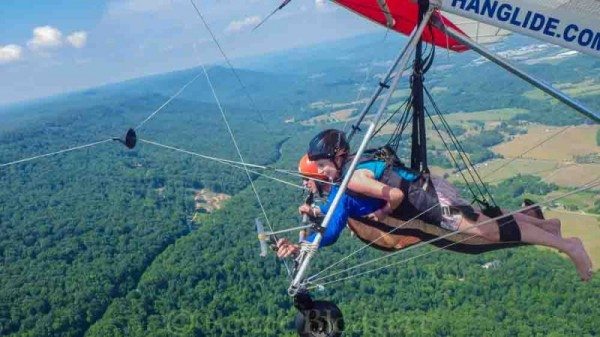 Hanggliding Chattanooga Tennessee