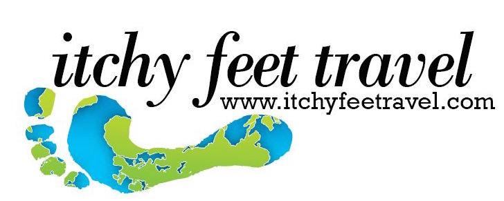 itchy feet travel logo