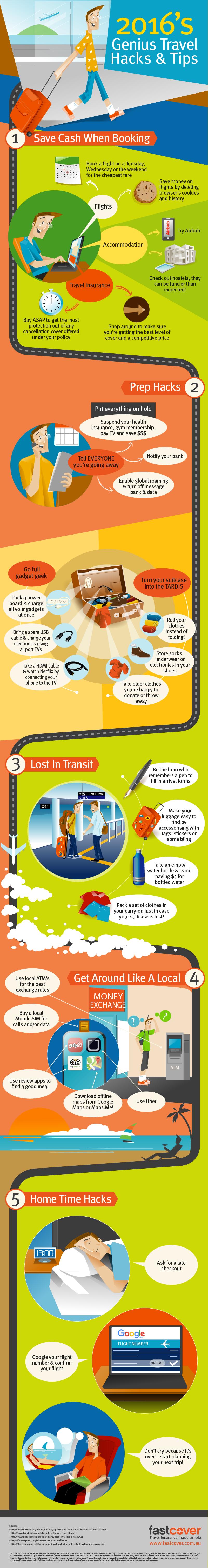 Genius Travel Hacks