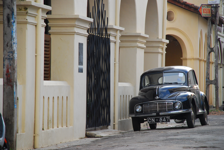 Street image Sri Lanka