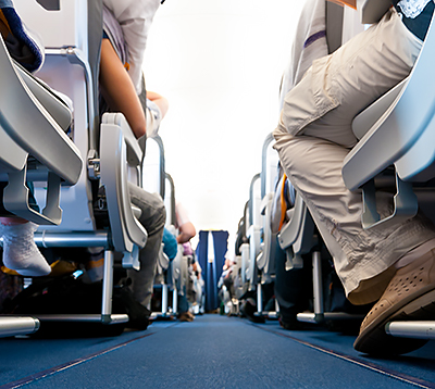 Staying Healthy and Safe on Your Flight