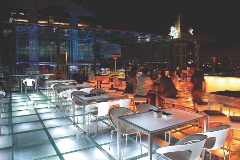 bangalore restaurant at night
