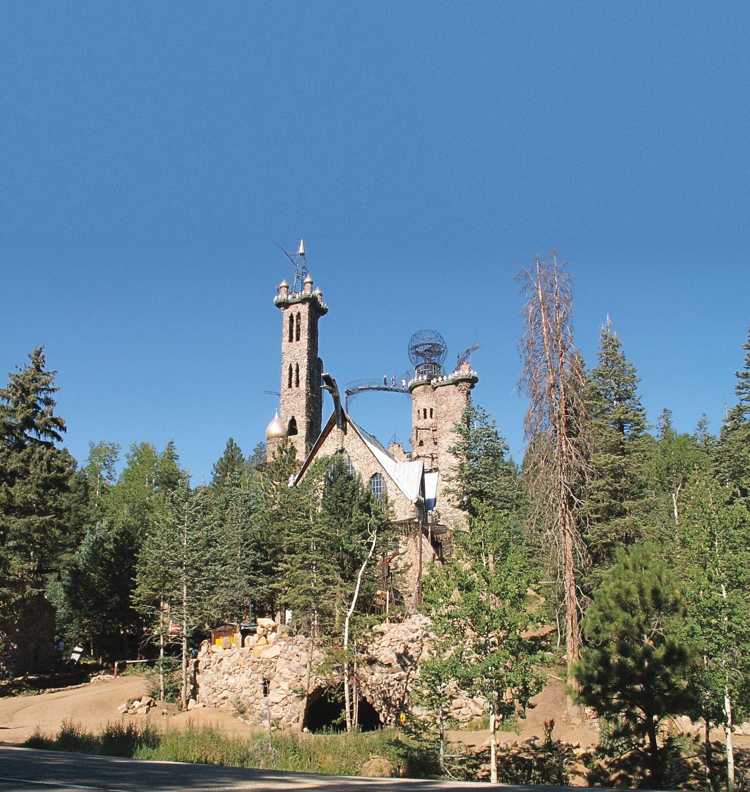self-made castles